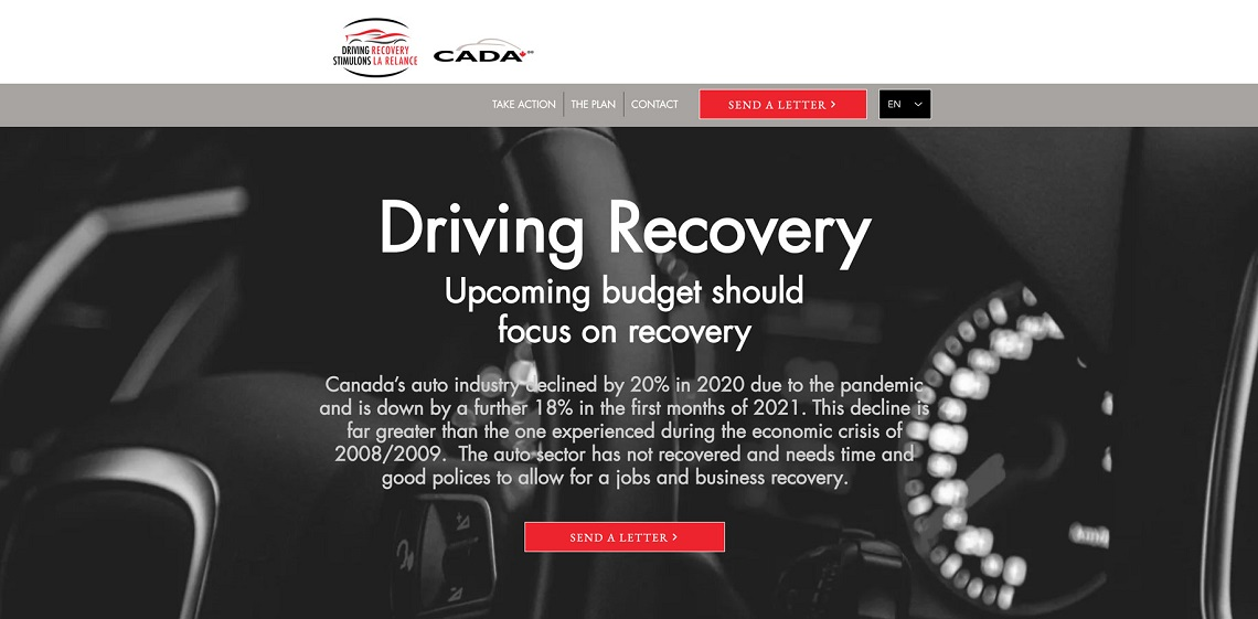 CADA launches Driving Recovery initiative