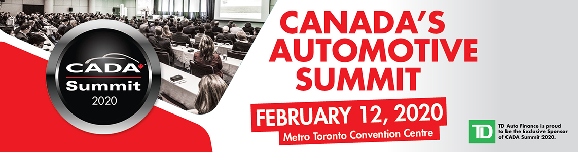 Canada's Automotive Summit, CADA Summit 2020, February 12, 2020