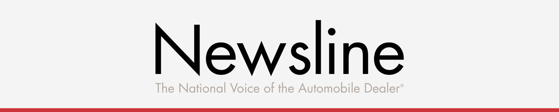 CADA Newsline banner with red line